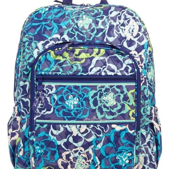 7317e6ee7 Vera Bradley Bags | Katalina Blues Campus Backpack | Poshmark